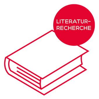 Icon literaturrecherche