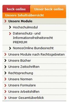 Icon Beck Modul Datenschutz