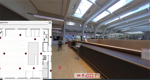 Screenshot virtual tour